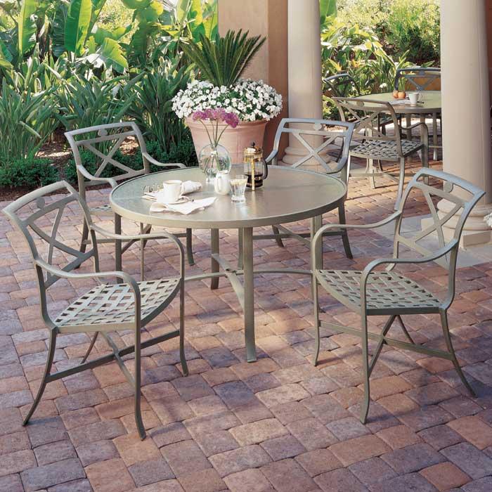 Allstate Patio Furniture.Palladian Cafe Cast Aluminum Patio Furniture Allstate Home Leisure